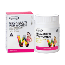 Mega multi for women 100 tabs