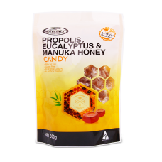 Propolis, Eucalyptus, Manuka Honey Candy 300g