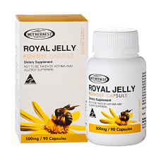 Royal Jelly Powder Capsules 500mg 90caps