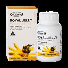 Royal Jelly Powder Capsules 500mg 90caps
