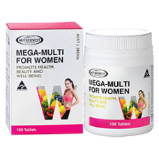 Mega multi for women 100tabs